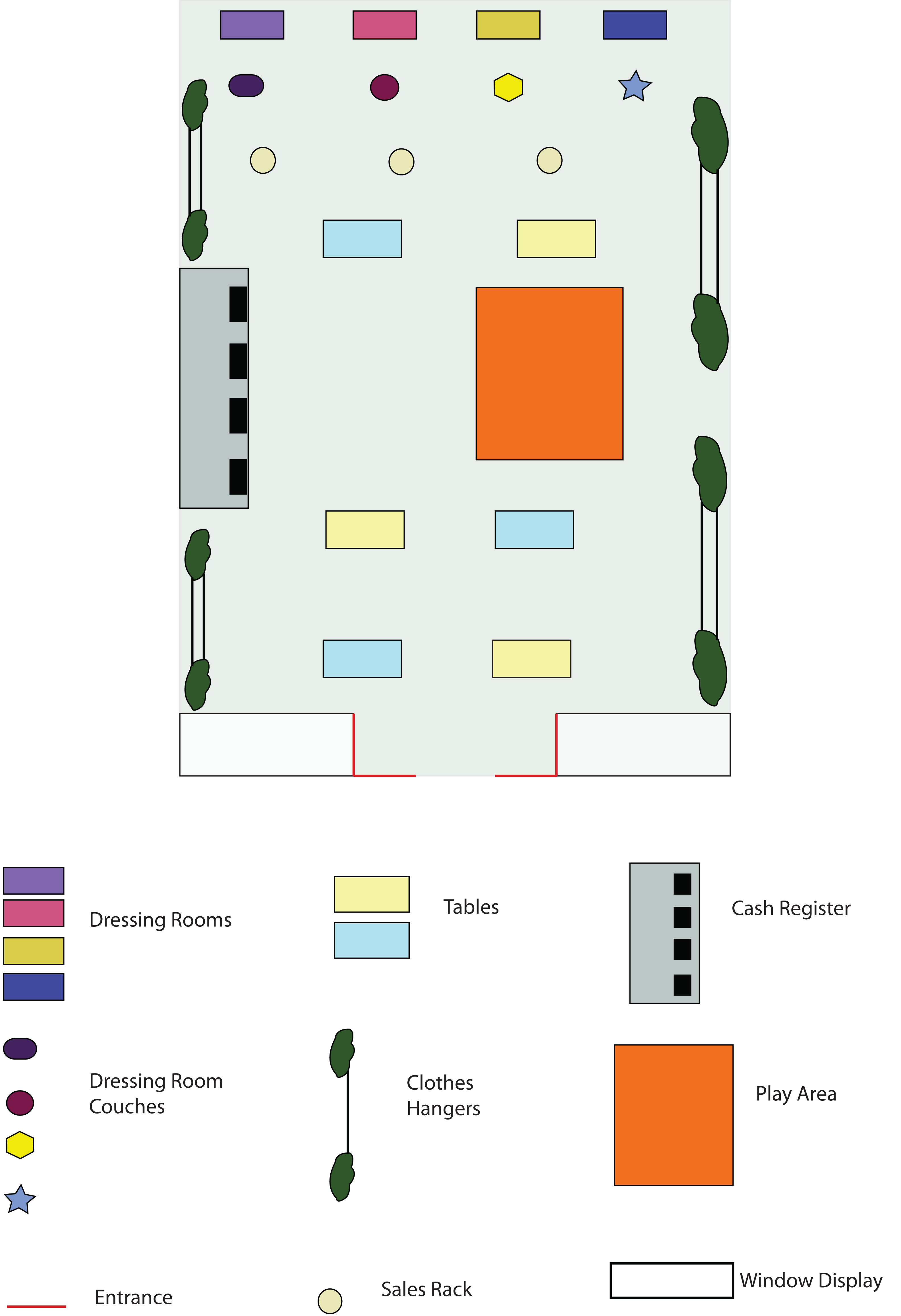 100 clothing store floor plan layout directory for Clothing store floor plan layout